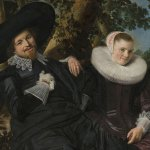 """detail of """"Portrait of a Couple"""" by Frans Hall (who rocks!) of Haarlem"""