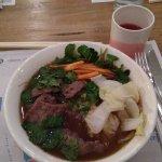 Ramen with beef