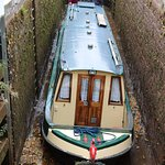 Boat at Brecon Canal