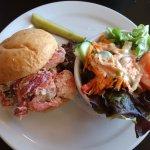 The lobster sandwich