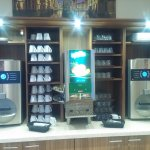 Expresso Machines, and juice dispenser