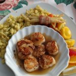 Seared scallops...excellent