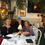 Louise and SQuire Rushnell with Gail Foerester