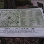 Diagram of the park and the arboretum