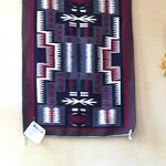 Loved this Beautiful Navajo Rug in the Dinning Room