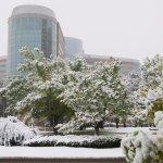 1 Day later - Snow! Hyatt Regency Denver Tech Center (09/Oct/17).