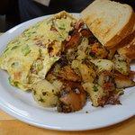 linguica omelette