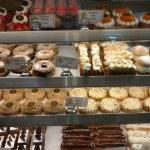 The pastry case