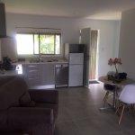 Lounge/kitchen area - unit 3