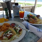 Fish Tacos and Fish sandwich