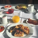 Picture perfect and delicious breakfast