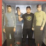 "Photo Op with the ""Original Crew"" in a Transporter Mockup"
