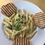 Pasta Carbonara! SOOOO GOOOD!