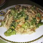 Alfredo with Chicken and Broccoli