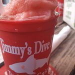 Rum punch slush