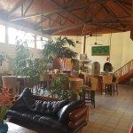 Bedarra reception and bar area