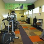 Fitness room. You have to go outside to access it from the pool area. It smelled damp.