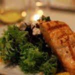 Beet salad with Salmon