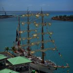 Mexican Navy training ship visiting