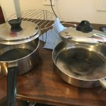 Cooking pots- horrible fir hotel rating