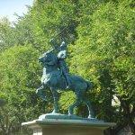 Joan of Arc Statue - Garden Focal Point