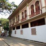 Parque histórico, el hotel en proceso de terminación