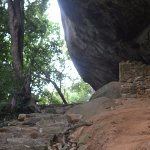 Steps up Pidurangala Mountain