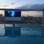 This picture is from Roof top pool and bar