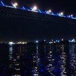 From the boat ride - Second Hooghly Bridge