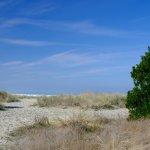 Approaching Bastendorff Beach
