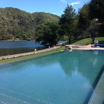 Alberca del hotel sierra lago