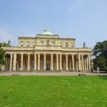 The Pittville Pump Room from the park