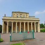 The Pittville Pump Room from the east