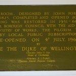 The Duke of Wellington slept here