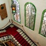 La scalinata di accesso alla sala concerti