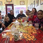 Nana, Pop-pop, and family all ate well!