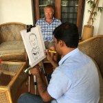Caricature session
