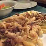 Üppig & Lecker: frittierte Garnelen & Tintenfische