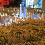 1:500 model of the entire city of Shanghai