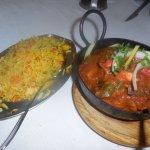 Main <Lamb Karaih & Bombay Special Rice