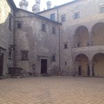 The court yard