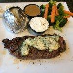 Salted steak