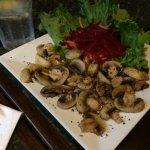 microwaved mushrooms