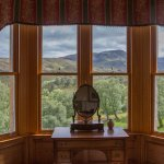 View from room 'Willow' in Alladale Lodge
