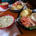 Chowder and lobster roll special