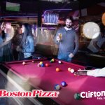 Boston Pizza Clifton Hill has billiards and so much more!