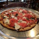 Gluten-free Margarita pizza