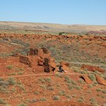 A smaller pueblo on the site.