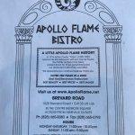 Foto di Apollo Flame Bistro - Brevard