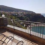 private balcony in room 12
